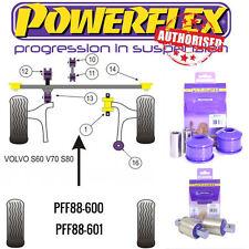 POWERFLEX FRONT ARM BUSH KIT FOR VOLVO S80 Mk1 2000-2007 PFF88-600/601 *not XC70
