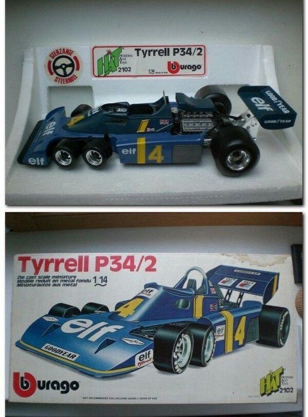TYRRELL P34-2 N 4 P. DEPAILLER 1976 F1 Formula 1 Bburago 1 14