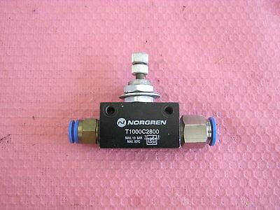 AnpassungsfäHig Norgren Modell: T1000c2800 Ventil, Durchfluss Kontrolle W2 Entlastung Von Hitze Und Sonnenstich
