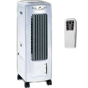 Portable Air Cooler Humidifier Fan Amp Air Ionizer Slim