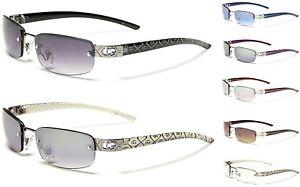 comprar popular 79e7b b3f96 Detalles de Gafas de sol para mujer diseñador Cg lente rectangular señoras  Sin Montura Gafas A La Moda- ver título original