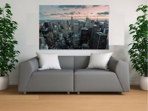 Beautiful-Sunset-New-York-art-Home-decor-High-quality-Canvas-print-choose-size
