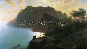HASELTINE-WILLIAM-STANLEY-SEA-FROM-CAPRI-ARTIST-PAINTING-OIL-CANVAS-REPRO-ART