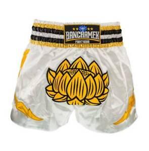 Real Muay Thai Short pant premium boxing Gym Fright Gear MMA Buakaw Banchamek 3