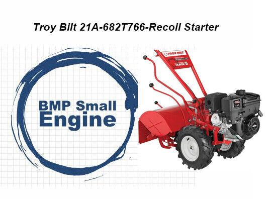 Recoil Starter Assembly For Troy Bilt 21D-64M8766 Bronco Tiller