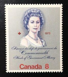 Canada-620ii-F-MNH-Royal-Visit-Queen-Elizabeth-II-Stamp-1973