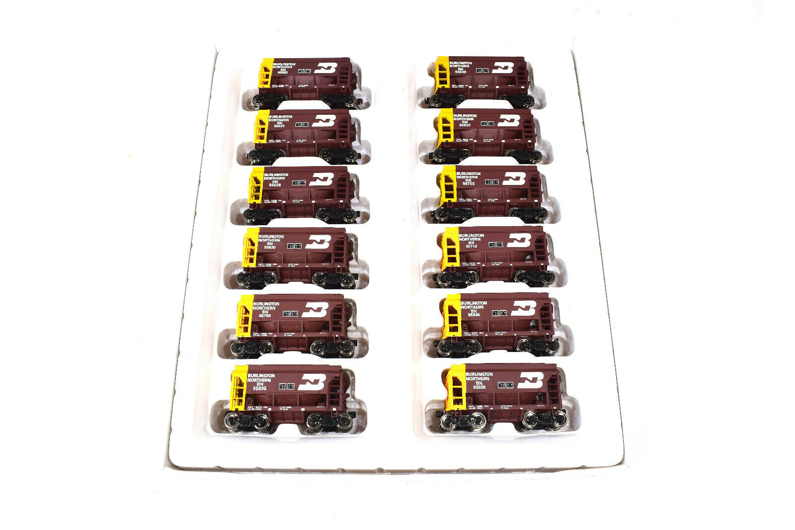 Walthers 932-4561 pista h0 12-tlg.set ore Coche-Tactonite vers., Burlington Northern