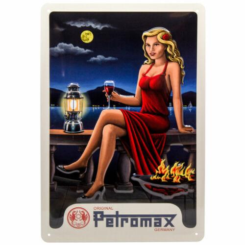 Los hombres regalo Petromax werbeschild escudo de chapa en estilo retro con hk500 px-Retro