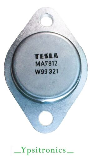 NEW LOT x5 MA=LM 7812K SPANNUNGS REGLER VOLTAGE REGULATOR 12V POS.//1.5A TESLA