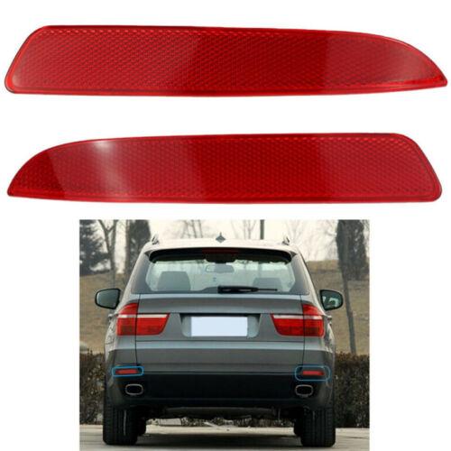 2x Reflektor Lichter Hinten 63217158950 Stoßstange Für BMW X5 E70 07-09