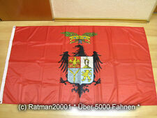 Fahnen Flagge Italien Provinz Palermo Digitaldruck - 90 x 150 cm