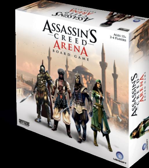 MW| ASSASSIN'S CREED ARENA BOARD GAME -ENGLISH- | CRYPTOZOIC ENTERTAINUomoT