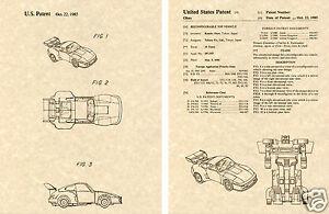Transformers-JAZZ-US-Patent-Art-Print-READY-TO-FRAME-1985-Ohno-Autobot-Car