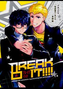 Details About Persona 5 Doujinshi Comic Ryuji Sakamoto X Hero Ren Amamiya Akira Joker Break It