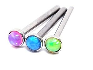 Nose-Stud-Opal-1-5mm-20g-0-8mm-g23-Titanium-Straight-8mm-Post-3-Colour-Choice