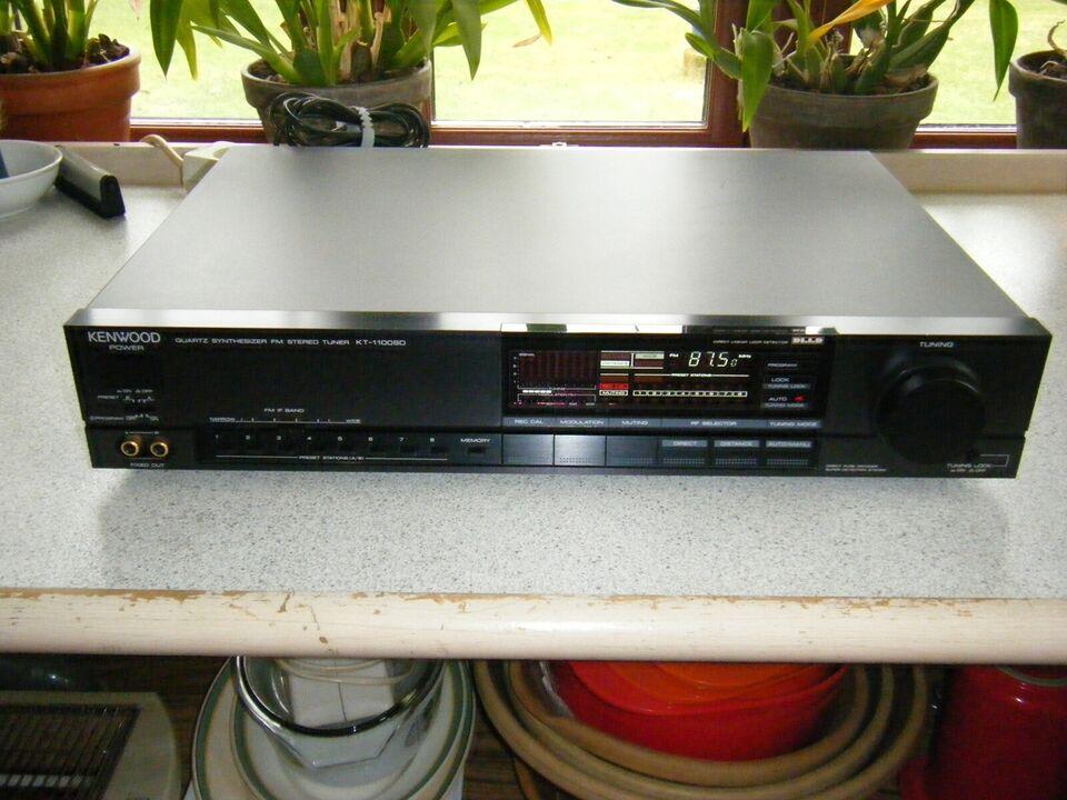 Tuner, Kenwood, KT-1100SD