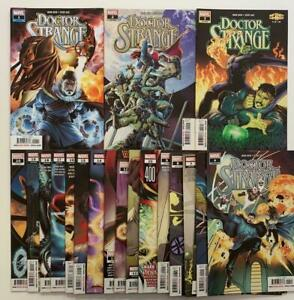 Doctor Strange #1 to #20 complete series. (Marvel 2019) VF+ to NM issues.