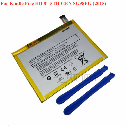 """NEW Battery 58-000127 26S1009 For Amazon Kindle Fire HD 8/"""" 5TH GEN SG98EG"""