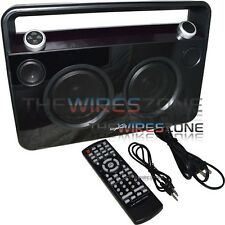 Supersonic SC-1000BT Black Wireless Bluetooth Portable Boombox Speaker w/ AUX In