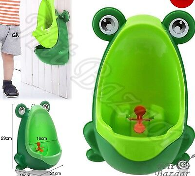 Frog Kids Potty Toilet Training Children Urinal Boys Pee Trainer Little Boy New