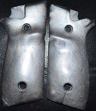 Taurus PT945 pistol grips Silver plastic