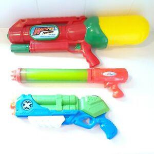 Water-Gun-Toy-Bundle-Waterpistol-Powershot-X-shot-Hydro-And-Water-Blaster