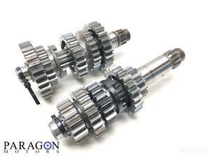 99-1-99-00-Yamaha-YZ250-YZ-250-Transmision-Tranny-Gearbox-Gear-Set-Main-Shaft