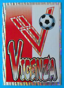 N SCUDETTO FIGURINA PANINI SUPERCALCIO 1997-98 36 VICENZA new