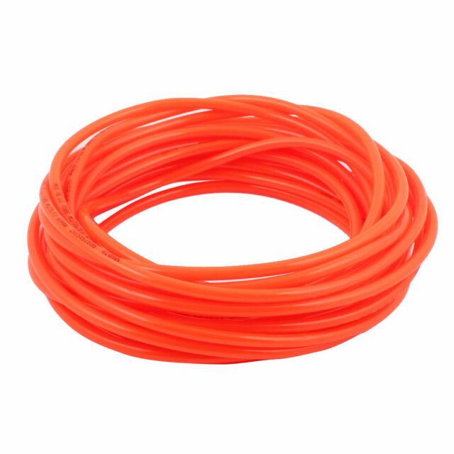 Red Flexible Pneumatic PU Polyurethane Hose Pipe Air Tube 11M Length