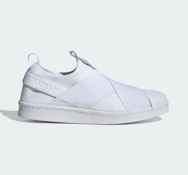 huge selection of 97940 ab095 New Adidas Originals Superstar Slip On W S81338 - White, Athletic Shoes  Sneakers