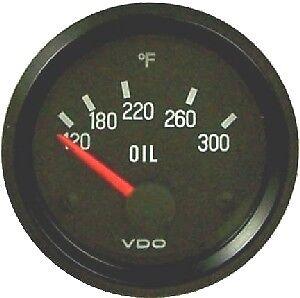 "VDO 300F Oil Temperature Gauge - Model 310-012 - 2 1/16"" for Sand Rail VW"