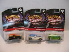 Hot Wheels Larry's Garage '32 Ford Sedan Delivery Cars Lot of 3 HW#33