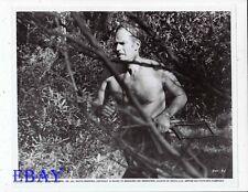 Charlton Heston barechested VINTAGE Photo The Omega man