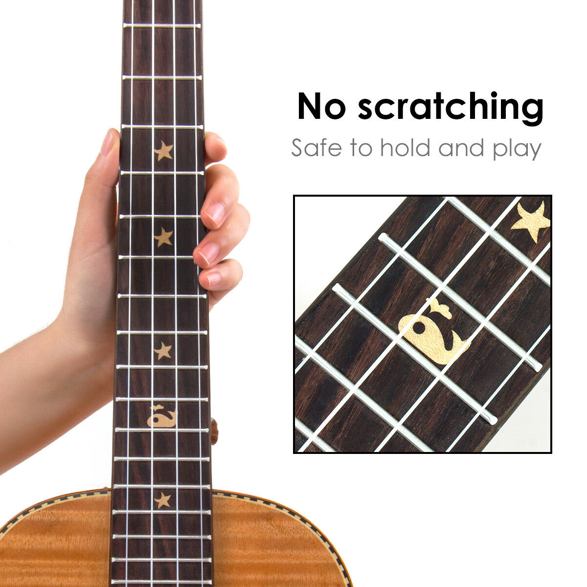 baritone ukulele 30 inch hawaii guitar with strap tuner gig bag mahogany kmise ebay. Black Bedroom Furniture Sets. Home Design Ideas