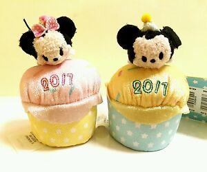 Disney Store Mickey Minnie Mouse Birthday Cake Vanilla Scented