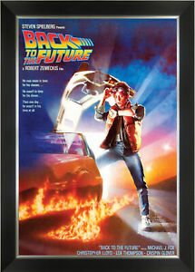 Back To The Future - Framed Classic Movie Poster Reprint