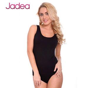 Intimo Donna Spirited Jadea Body Spalla Larga 4152 100% Original Cotone Elasticizzato