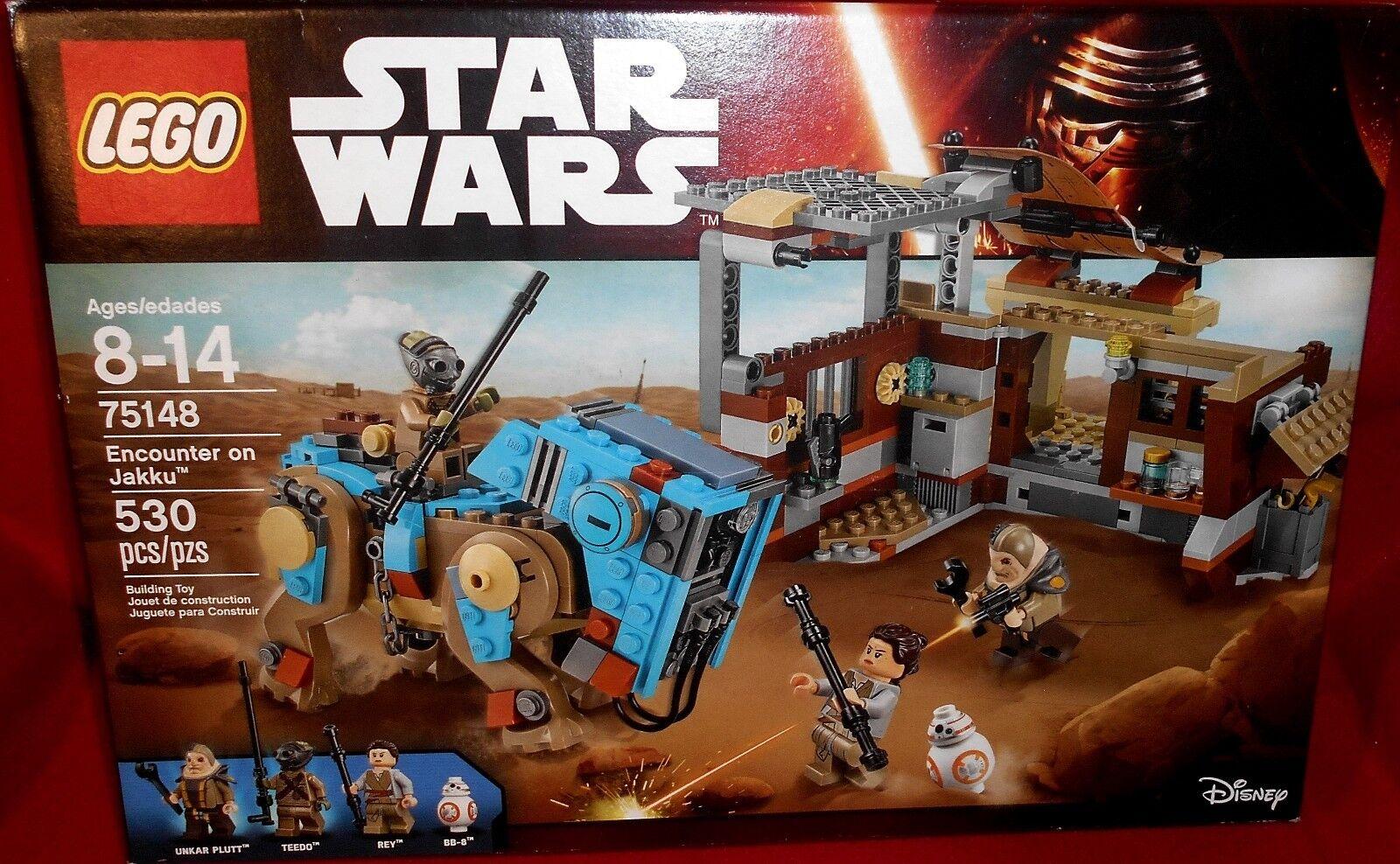 LEGO STAR WARS (75148) Encounter on Jakku Jakku Jakku NEW   SEALED HTF minfigs REY BB8 05a7d0