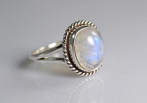 Rainbow-Moonstone-Ring-925-Solid-Sterling-Silver-Handmade-Jewelry-US-RBM-015