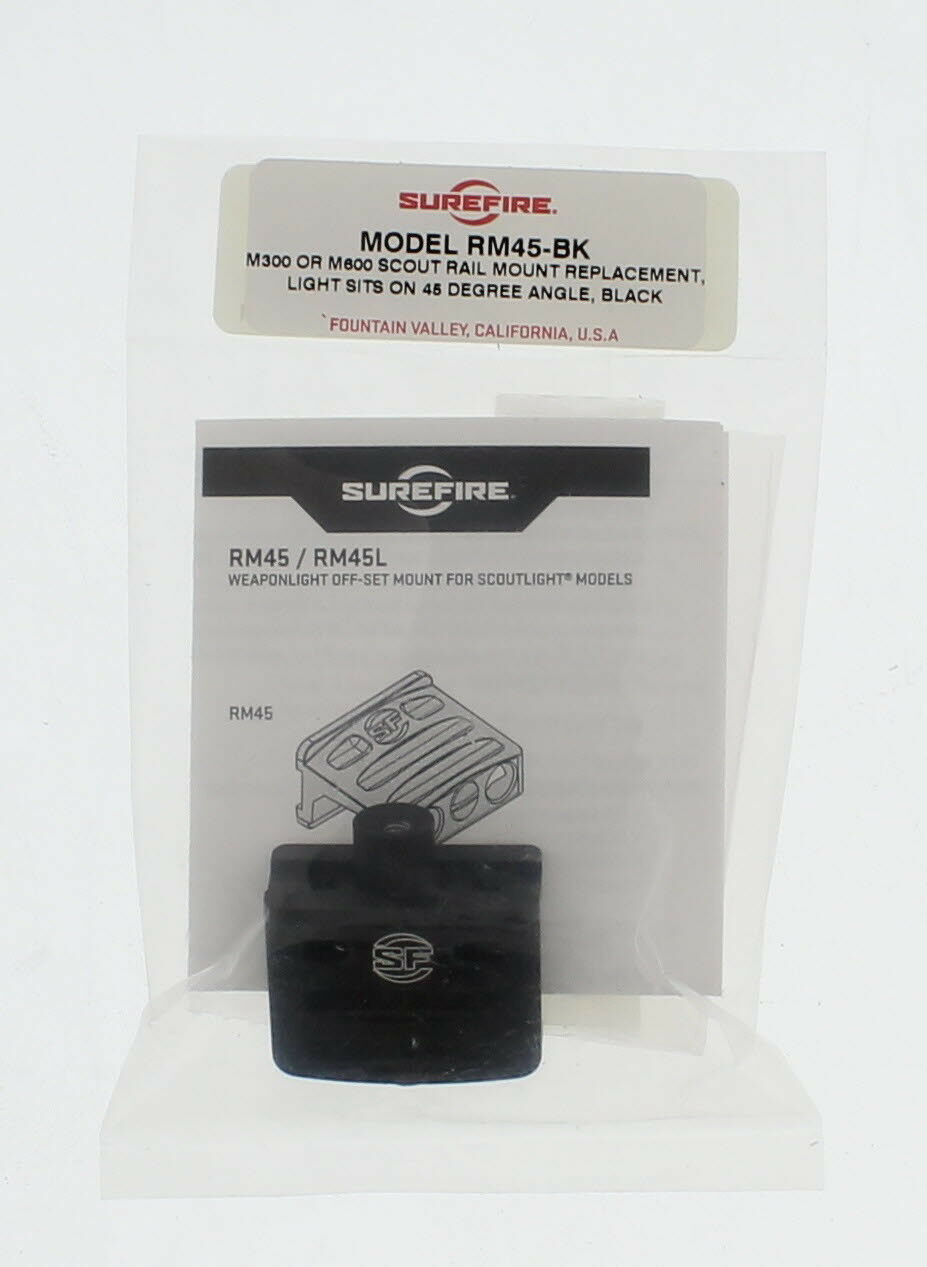SureFire RM45 Rail Mount for M600 Scout 45-Degree Angle