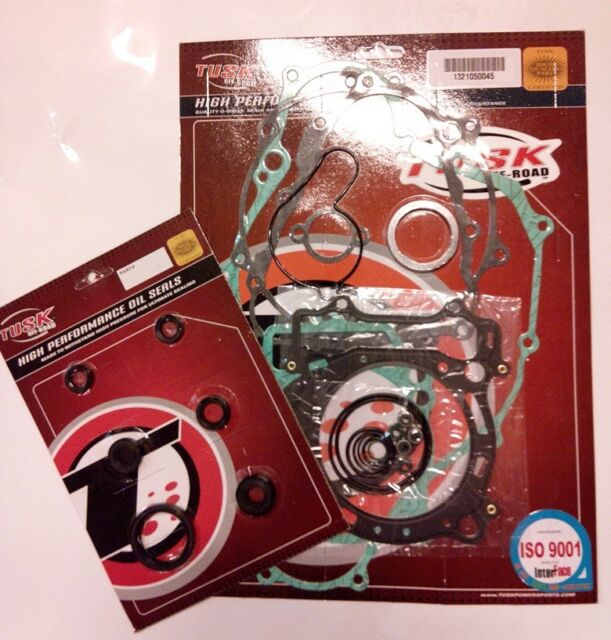 Complete Gasket & Oil Seal Kit Top/Bottom End Set -YAMAHA YFZ450 YFZ 450 2012-13