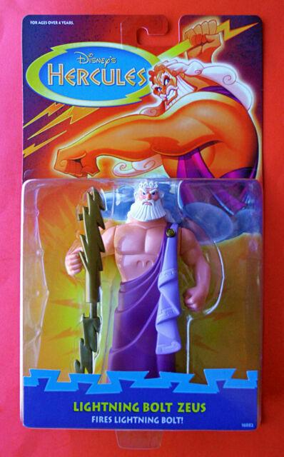 Hercules Disney Mattel 1997 Lightning Bolt Zeus Action Figure For Sale Online Ebay