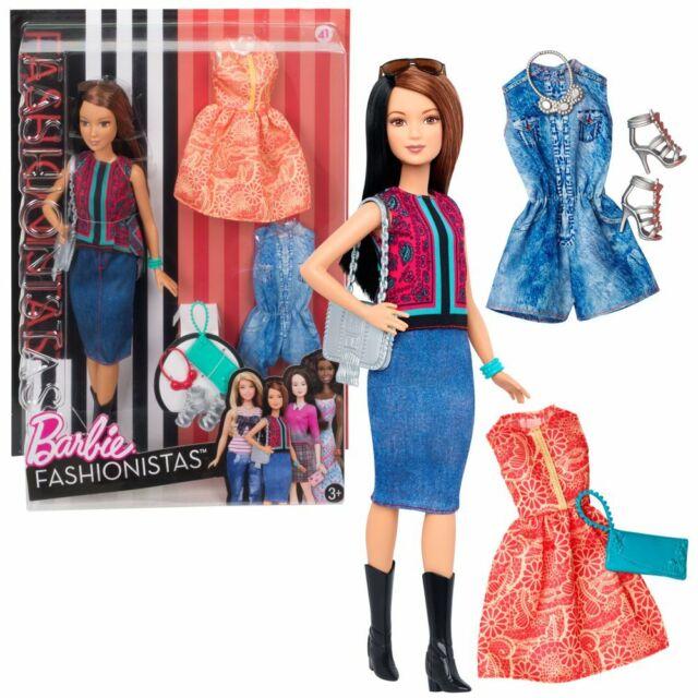 Pretty in Paisley | Mattel DTF04 | Petite Fashionistas 41 | Bambola | Barbie