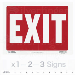 image is loading exit sign door signs store office shop safety