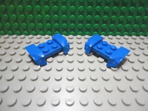 New LEGO Lot of 2 White 2x4 Car Truck Vehicle Mudguards Piece Headlight Overhang