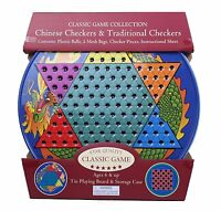 Chinese Checkers And Traditional Checkers , New, Free Shipping