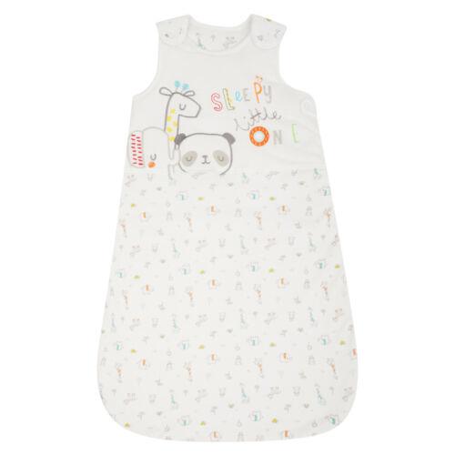 BABY SLEEPING BAG BOYS GIRLS EX UK STORE 1.5 /& 2.5 Tog COTTON 0-24M BRAND NEW