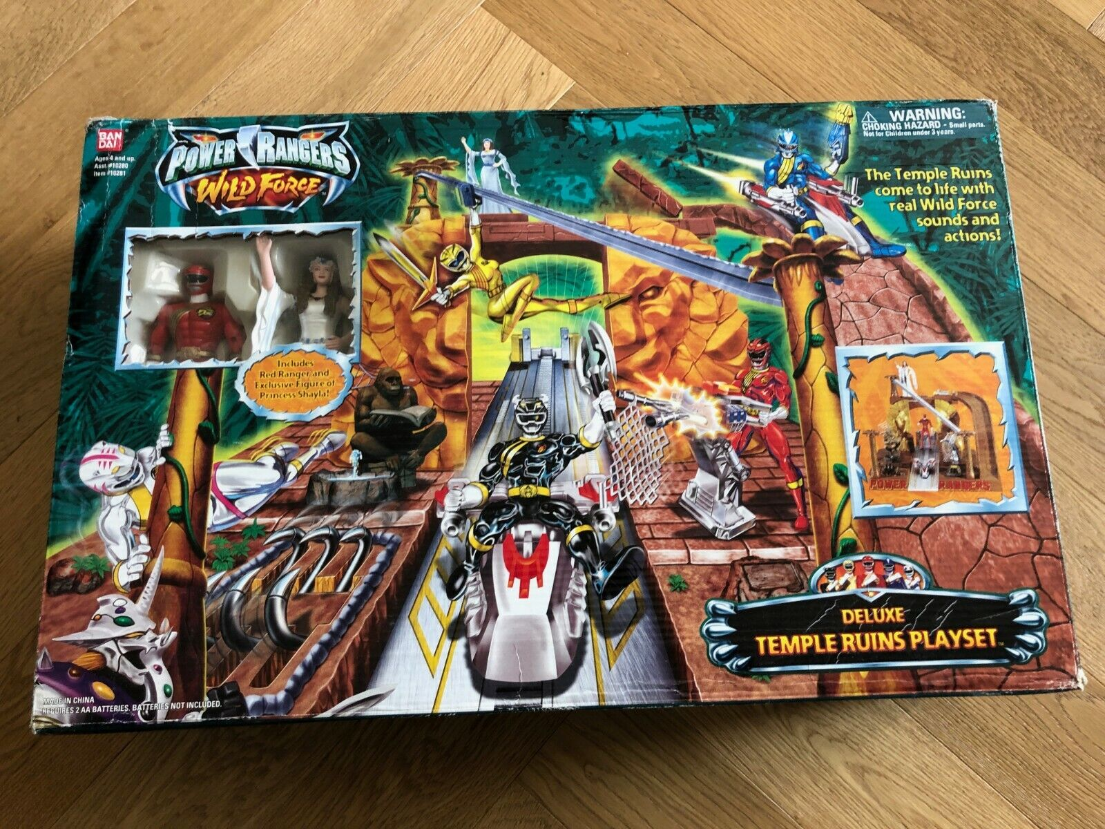 Energia Rangers Wild Force DX Temple Ruins  Playset Base Temple Force Animale  vendita di fama mondiale online