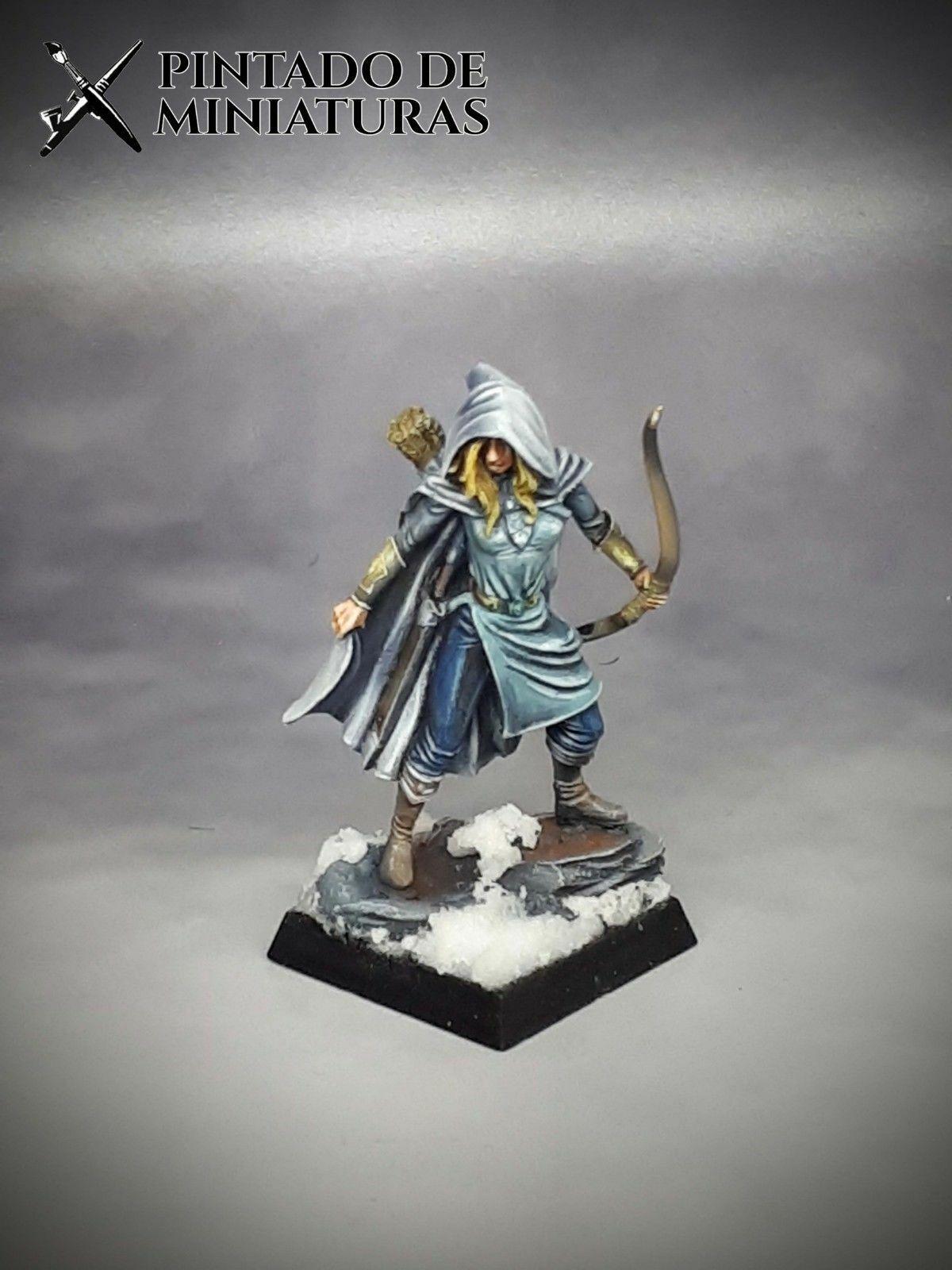 ⚠️ WARHAMMER Fantasy AoS Elf Ranger Wargames Rol Model Citadel
