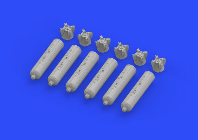 EDUARD BRASSIN 672128 CBU-97 US Cluster Bombs in 1:72
